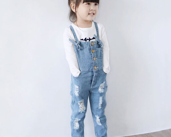 Denim-dress-kids-birthday