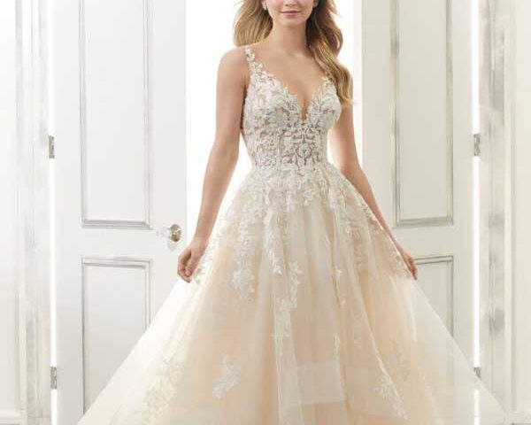 Ball-gown-wedding-dress-for-pear-shaped-body