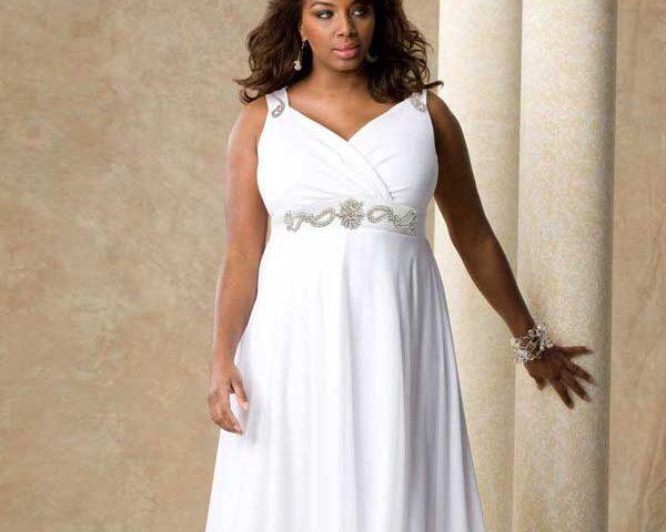Empire Waist dresses for Plus Size