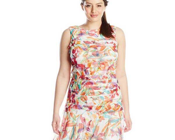 Low-Waist-Dress-for-plus-size