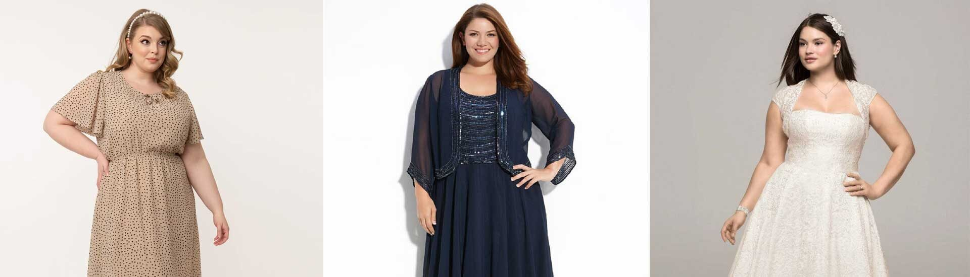Plus-Size-Dresses-For-Women's-To-Hide-Stomach
