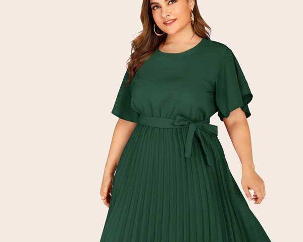Shift-dress-for-plus-size