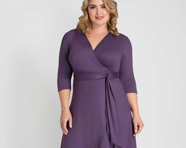 Wrap-dress-for-plus-size